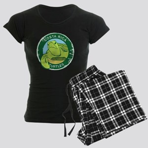 SEA TURTLE RESCUE Women's Dark Pajamas